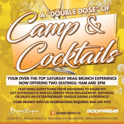 Camp & Cocktails @ Godfrey's