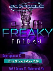 Freaky Friday @ Godfrey's